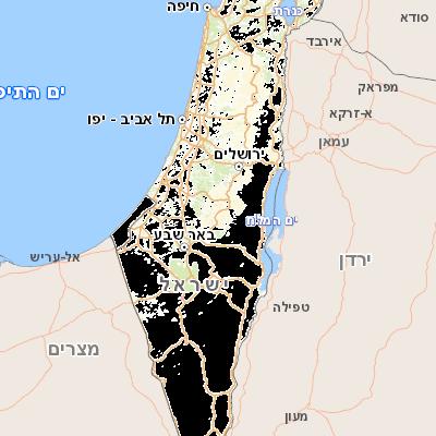 הגדול Govmap מפות ישראל CU-65